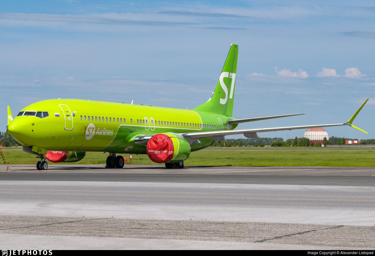 VQ-BGV - Boeing 737-8 MAX - S7 Airlines