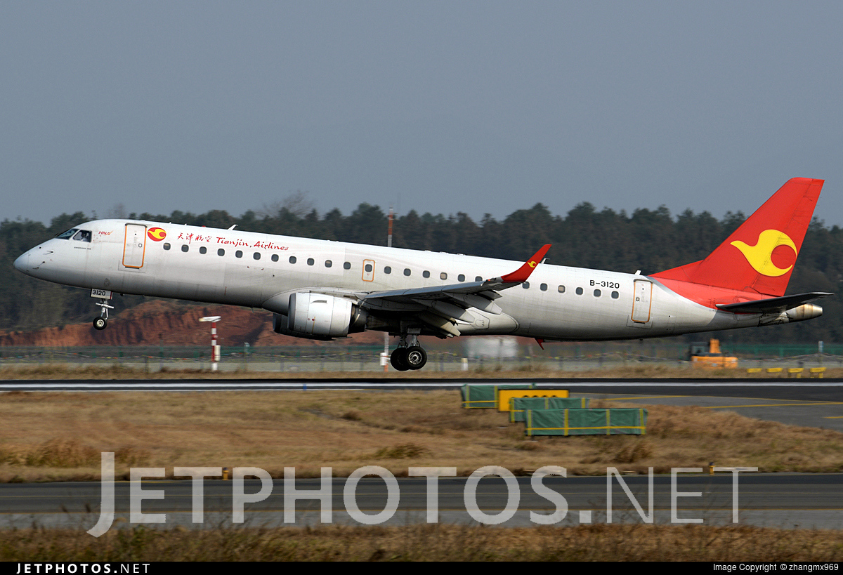 B-3120 - Embraer 190-100IGW - Tianjin Airlines