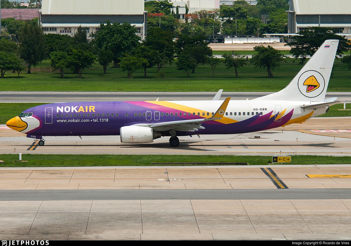 HS-DBB - Boeing 737-8AS - Nok Air