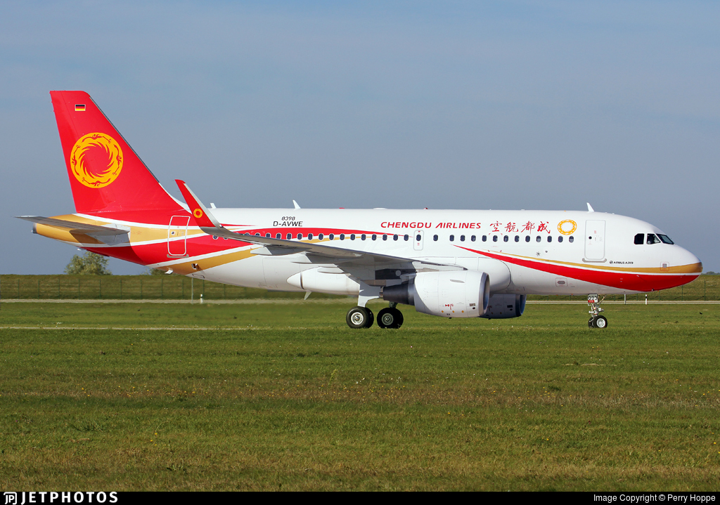 D-AVWE - Airbus A319-115 - Chengdu Airlines
