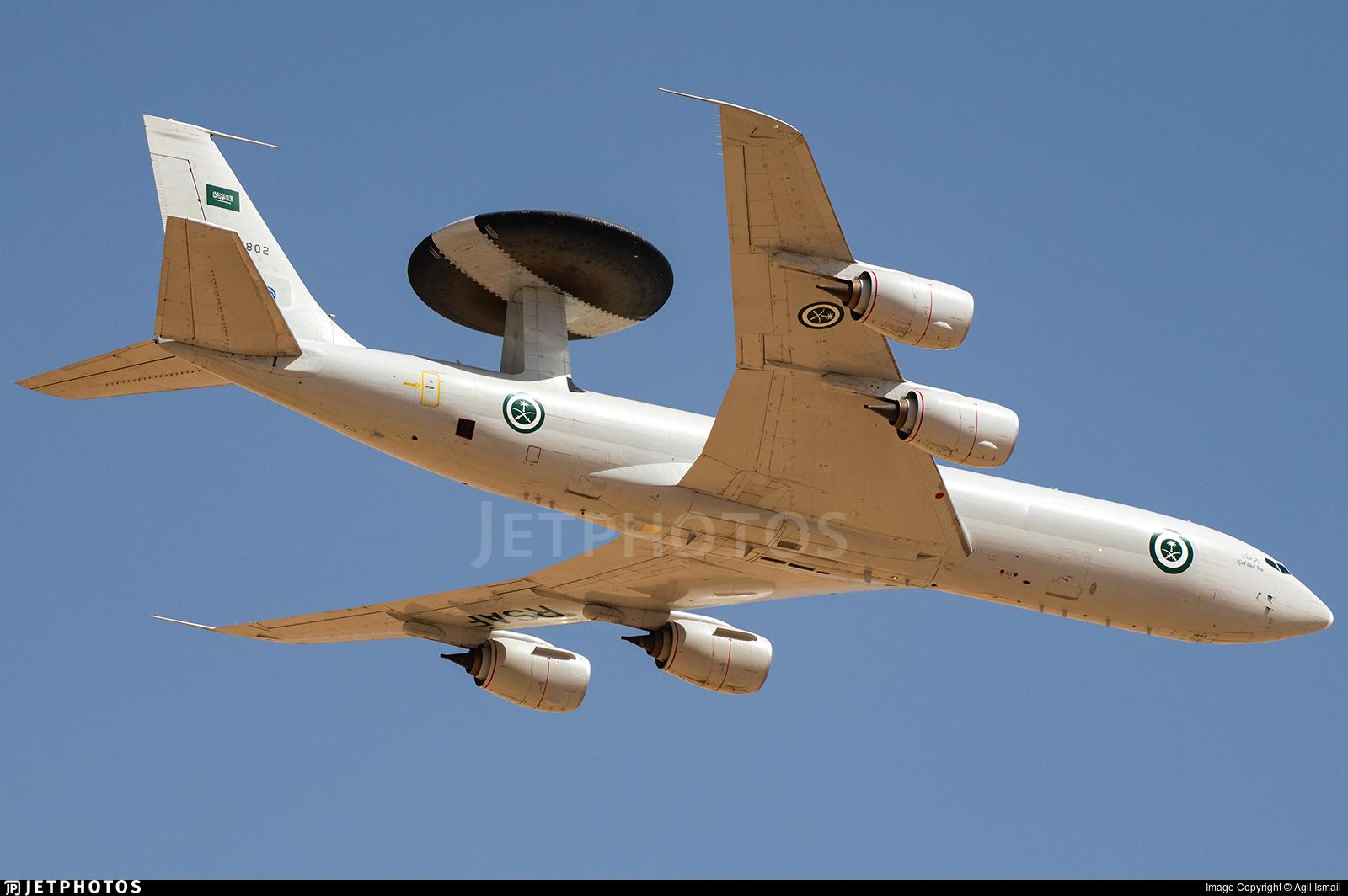 1802 - Boeing E-3A Sentry - Saudi Arabia - Air Force