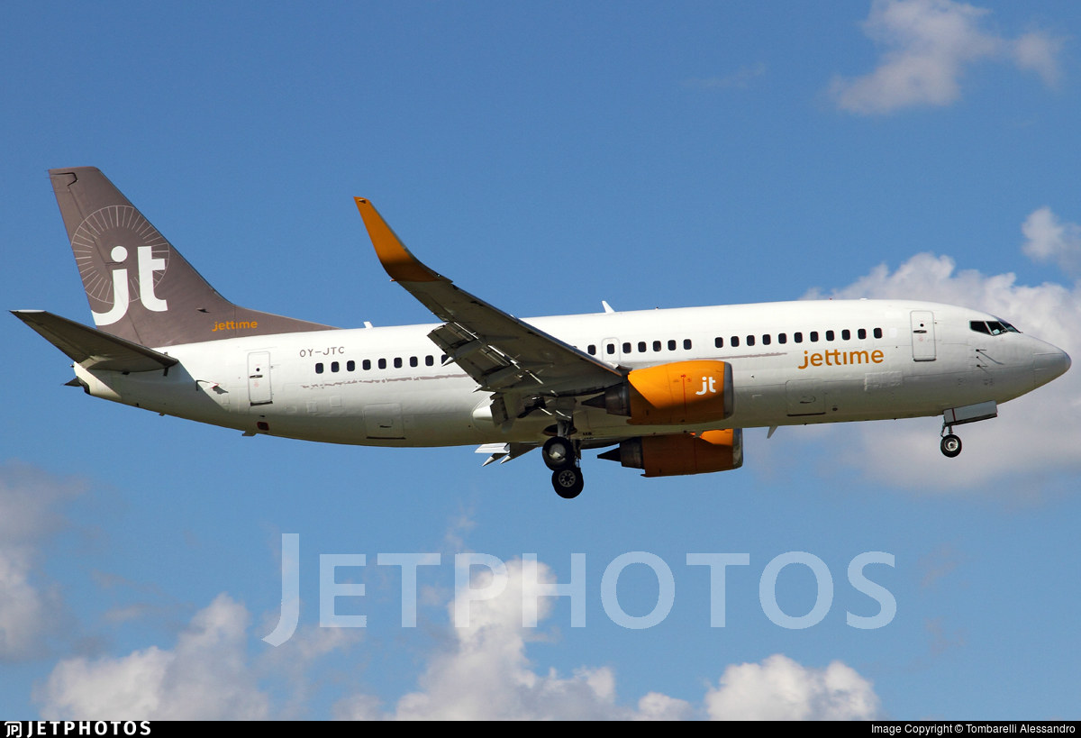 OY-JTC - Boeing 737-3L9 - Jettime
