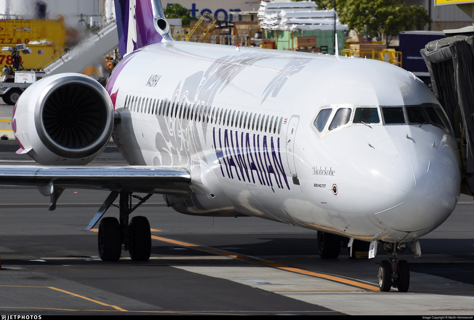 N491HA - Boeing 717-2BL - Hawaiian Airlines