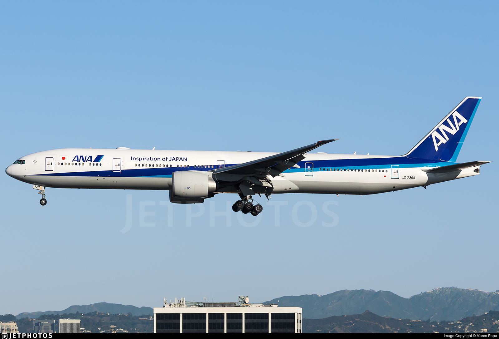 Ana Marco ja736a   boeing 777-381er   all nippon airways (ana)   marco