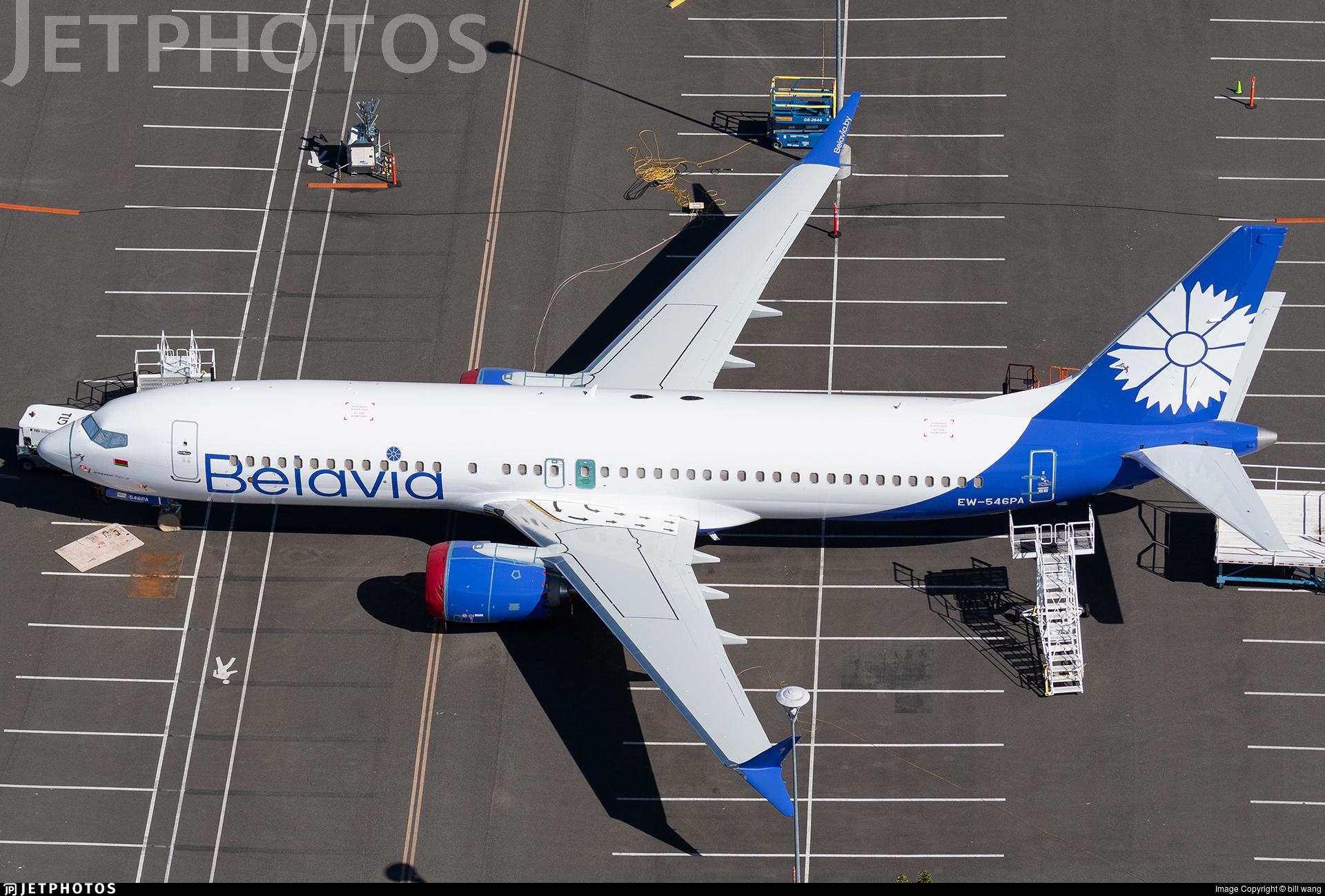 EW-546PA - Boeing 737-8 MAX - Belavia Belarusian Airlines