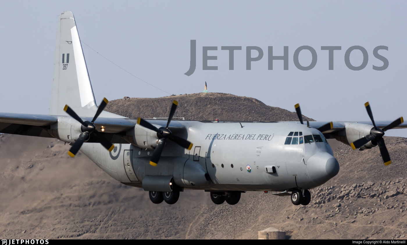 397 - Lockheed L-100-20 Hercules - Perú - Air Force