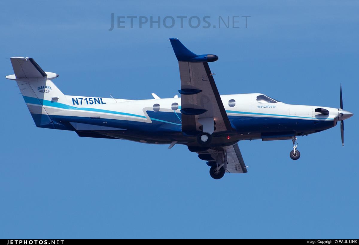 N715NL - Pilatus PC-12/45 - Private