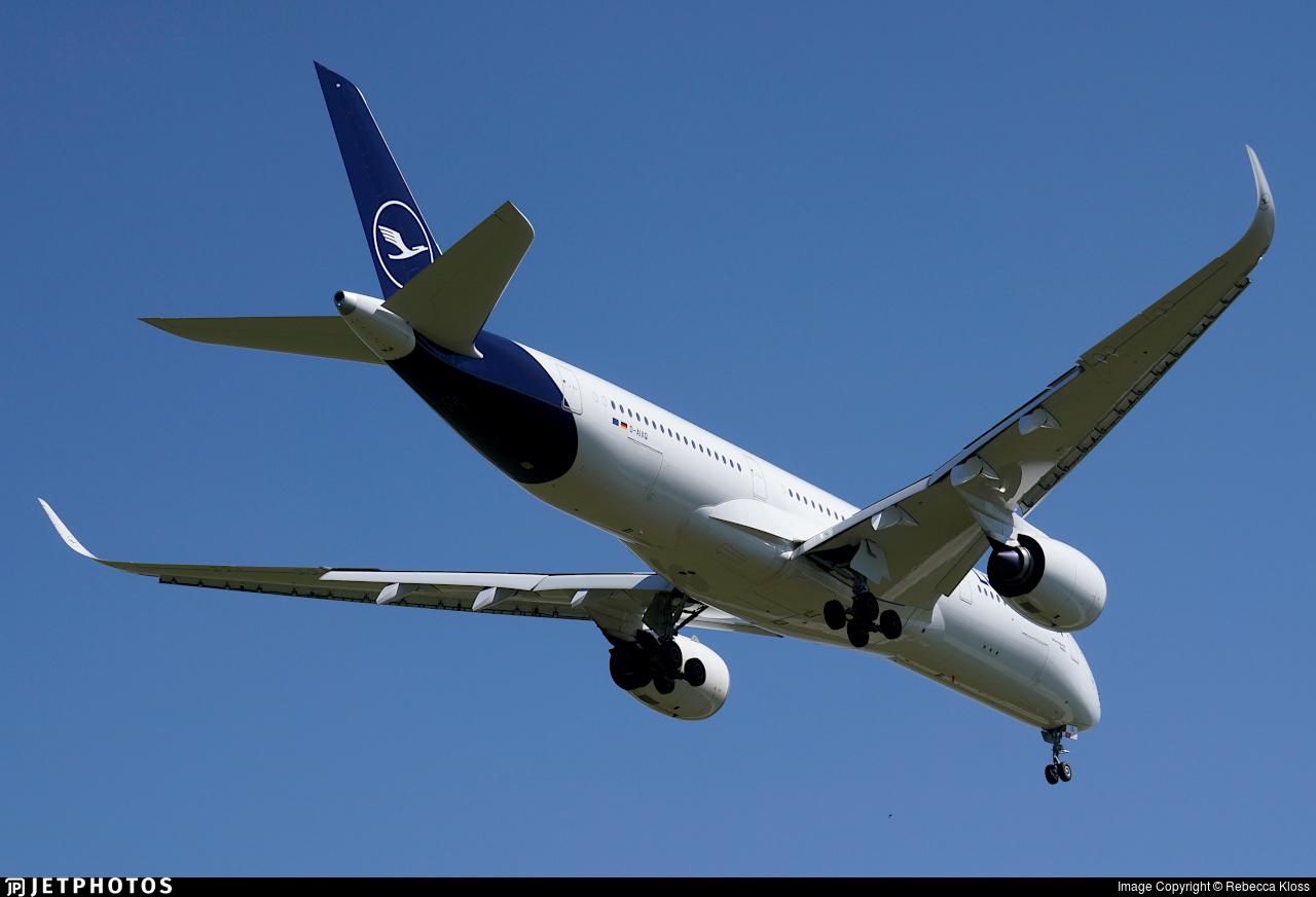 D-AIXQ - Airbus A350-941 - Lufthansa