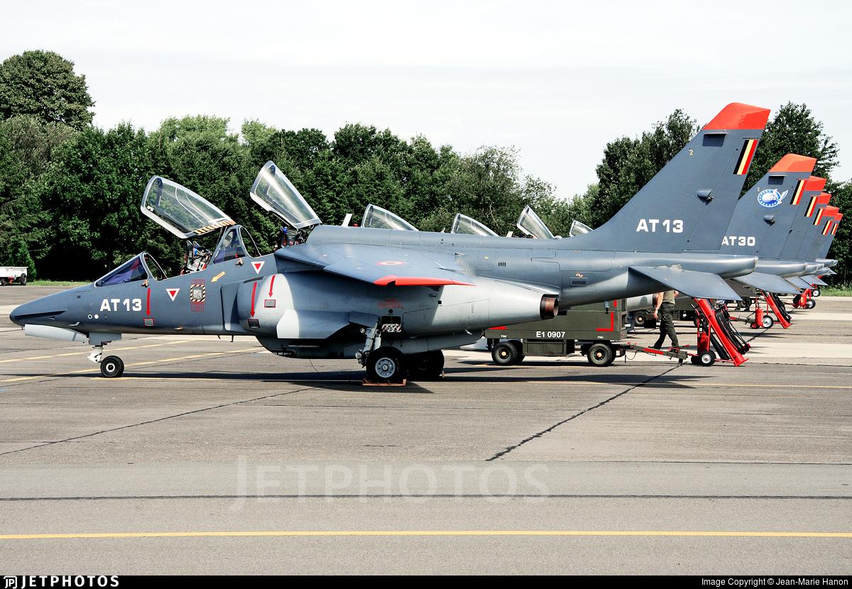 AT-32 - Dassault-Breguet-Dornier Alpha Jet 1B+ - Belgium - Air Force