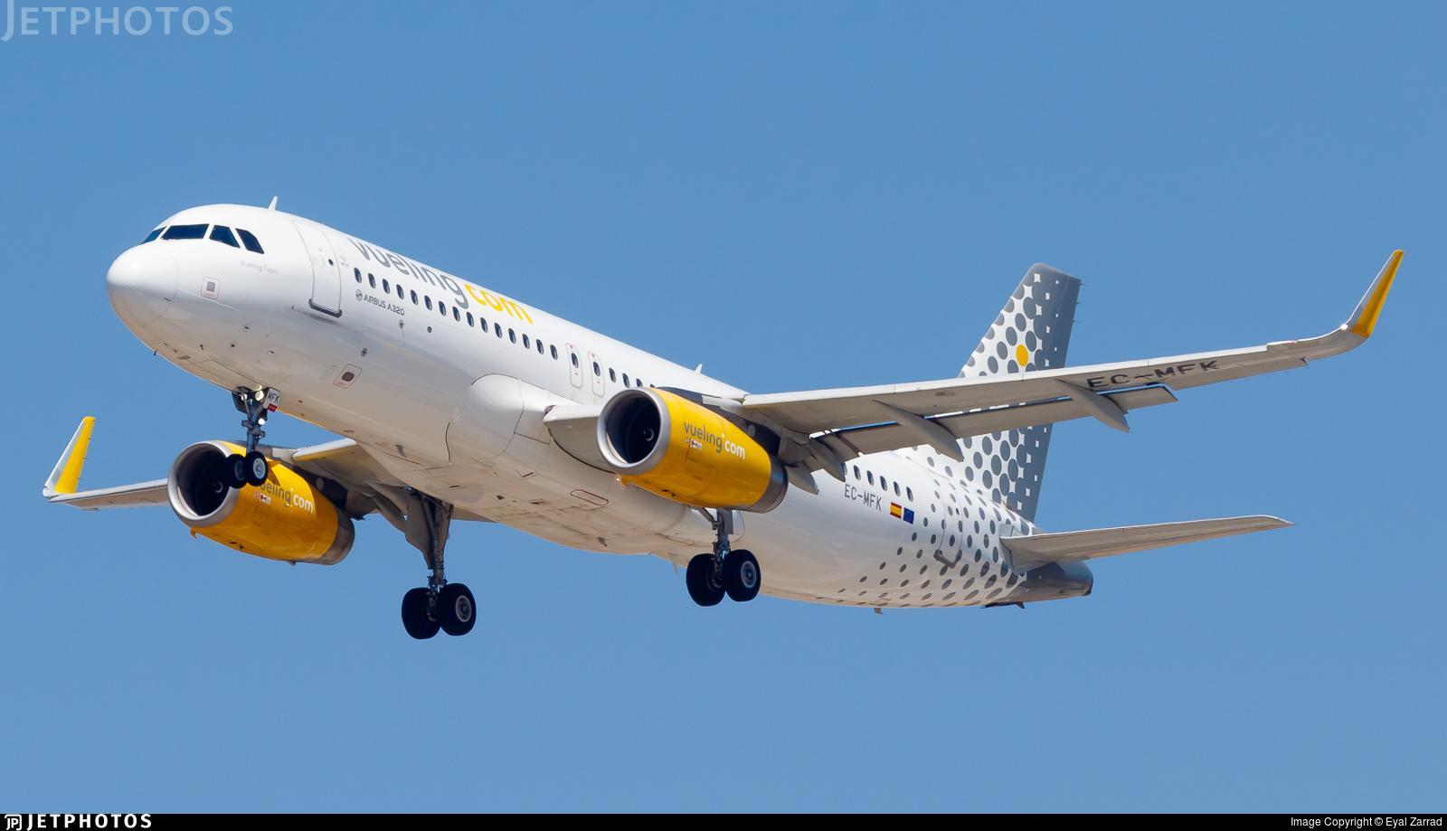 EC-MFK - Airbus A320-232 - Vueling
