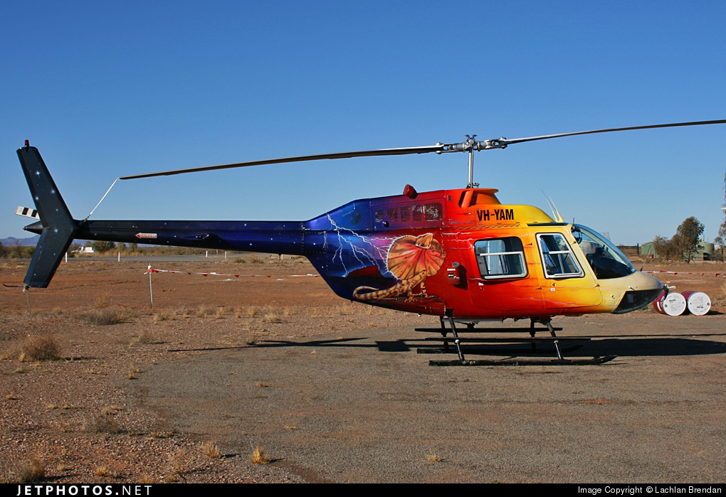 VH-YAM - Bell 206B JetRanger - Private