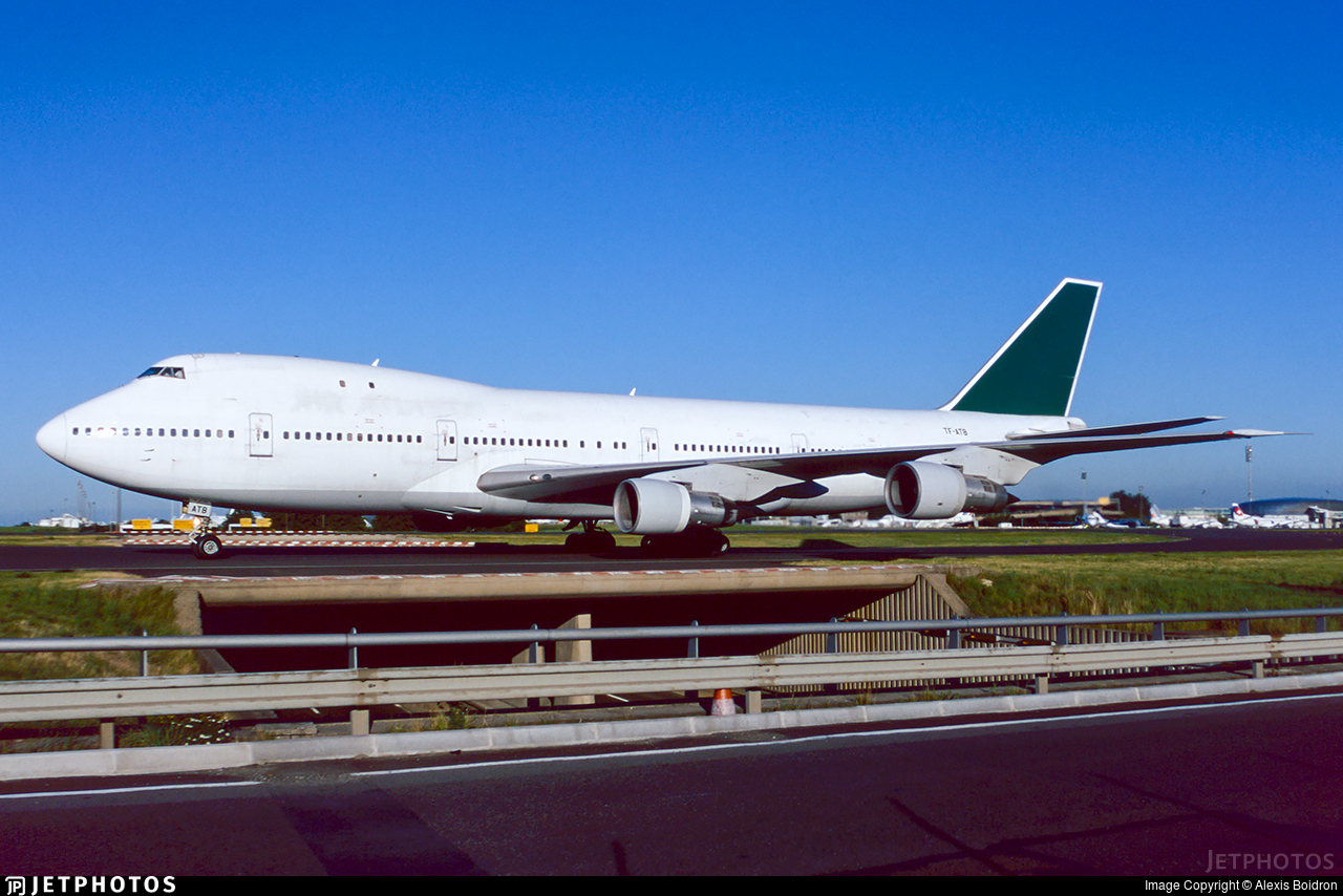 TF-ATB - Boeing 747-246B - Air Atlanta Icelandic