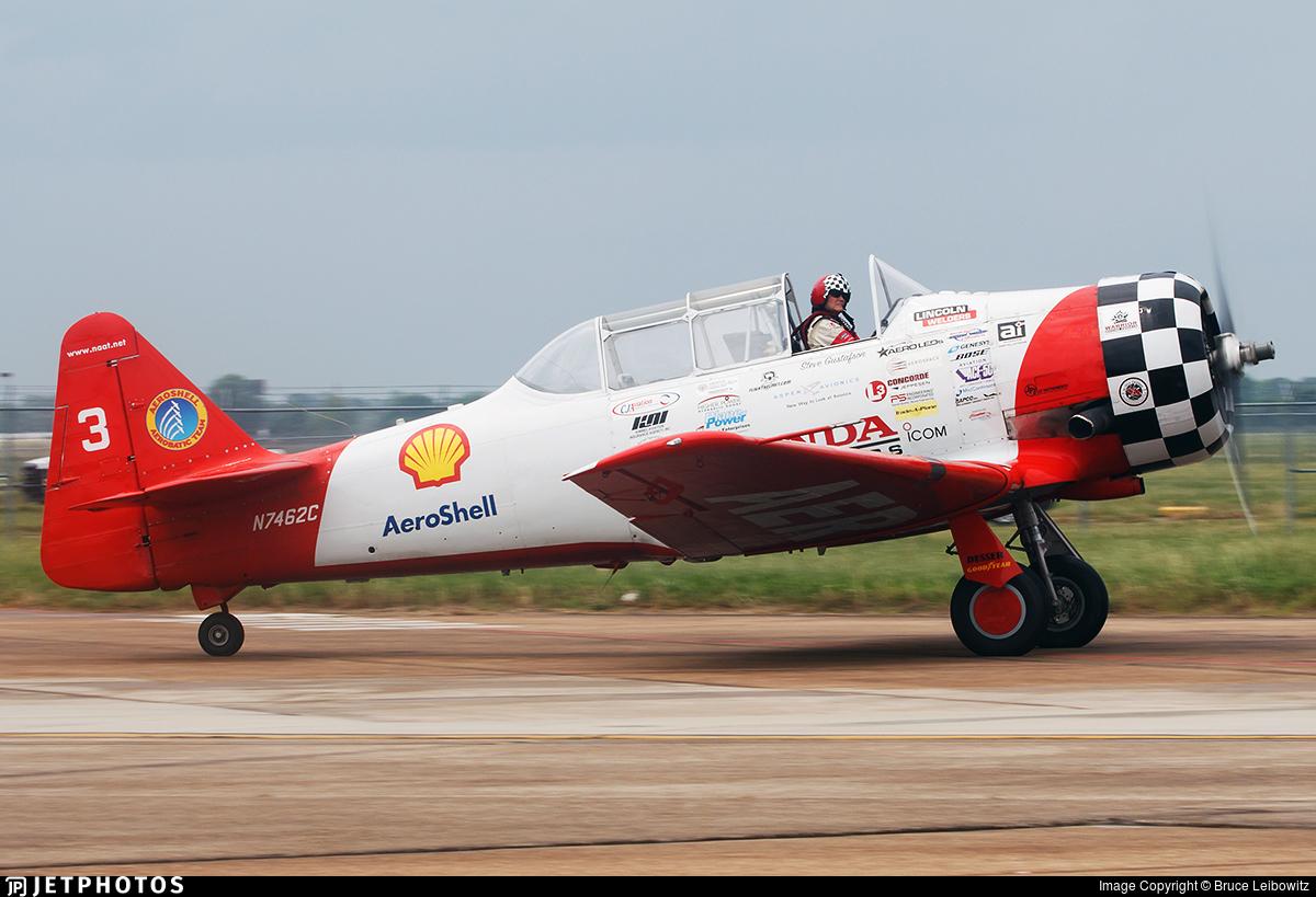 N7462C - North American AT-6G Texan - Aeroshell Aerobatic Team