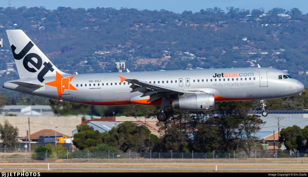 VH-VQJ - Airbus A320-232 - Jetstar Airways