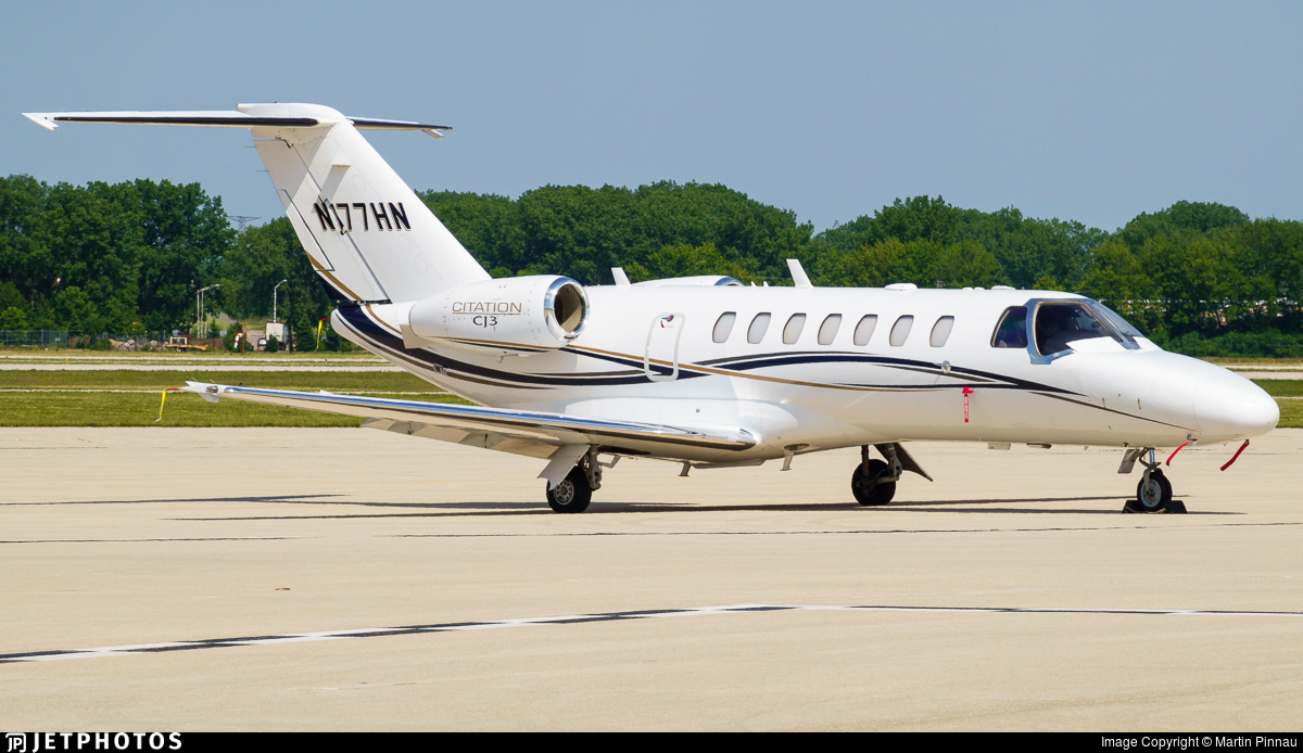 N177HN - Cessna 525 Citationjet CJ3 - Private