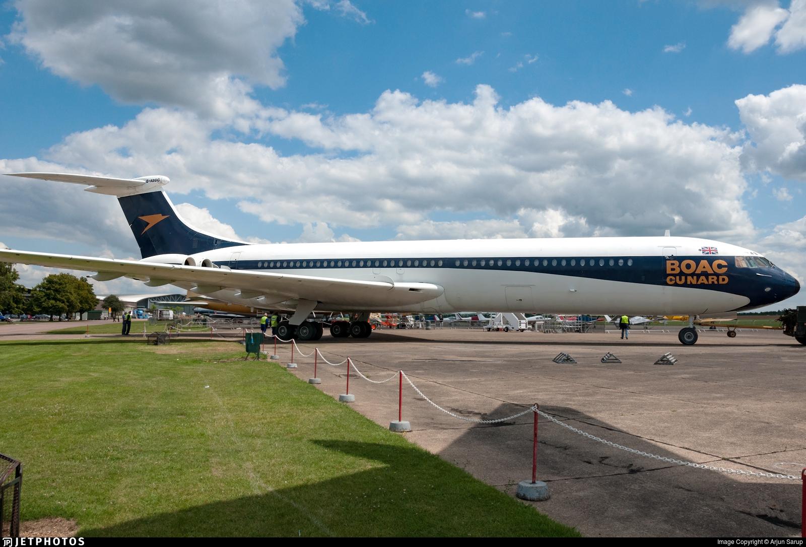 G-ASGC - Vickers Super VC-10 - British Overseas Airways Corporation (BOAC)