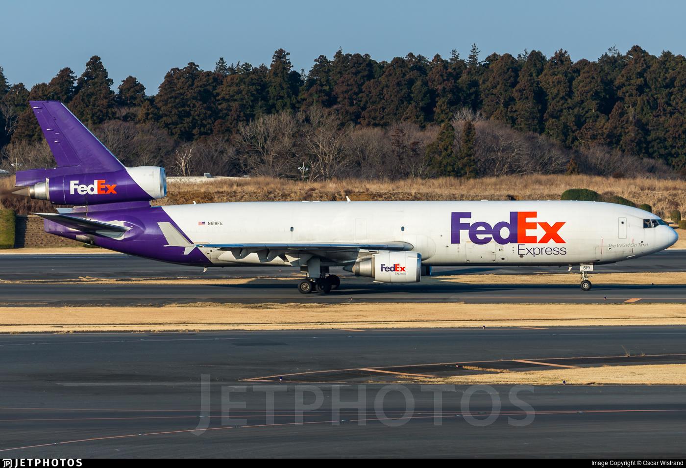 N616FE - McDonnell Douglas MD-11(F) - FedEx