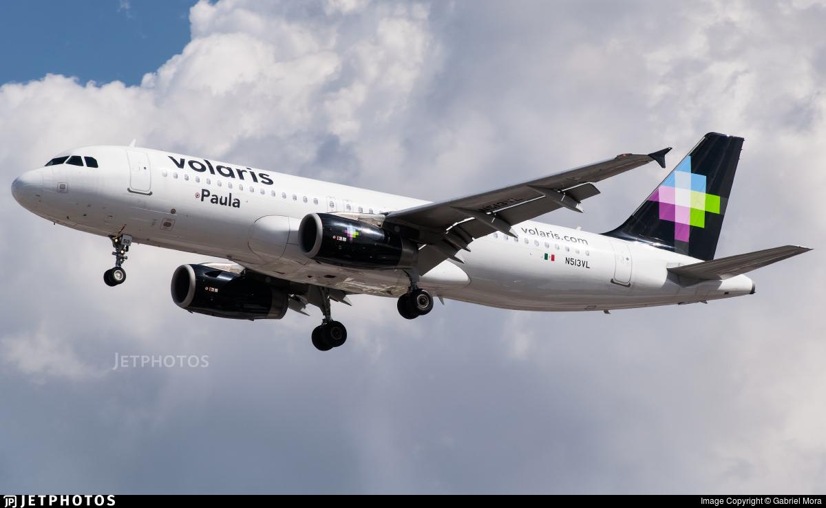N513VL - Airbus A320-233 - Volaris
