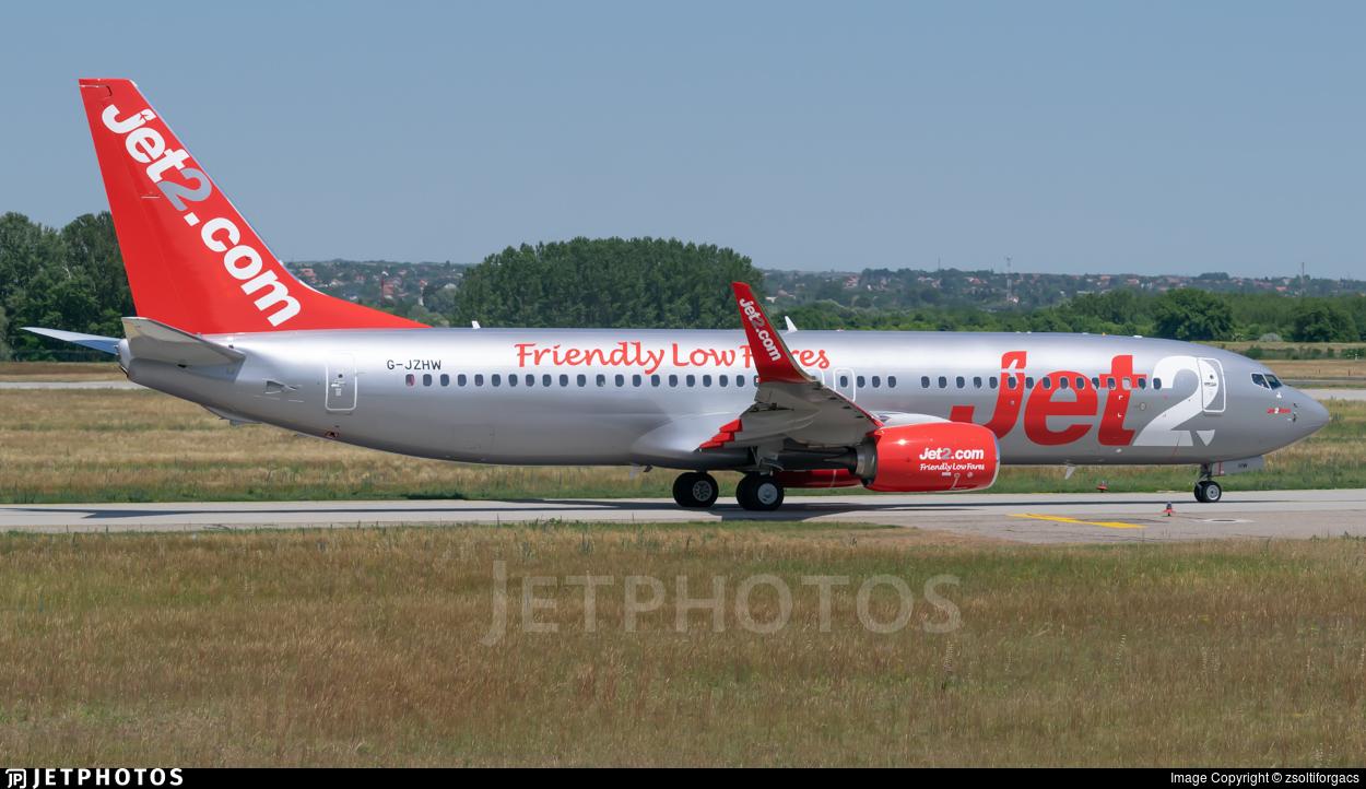 G-JZHW - Boeing 737-8MG - Jet2.com