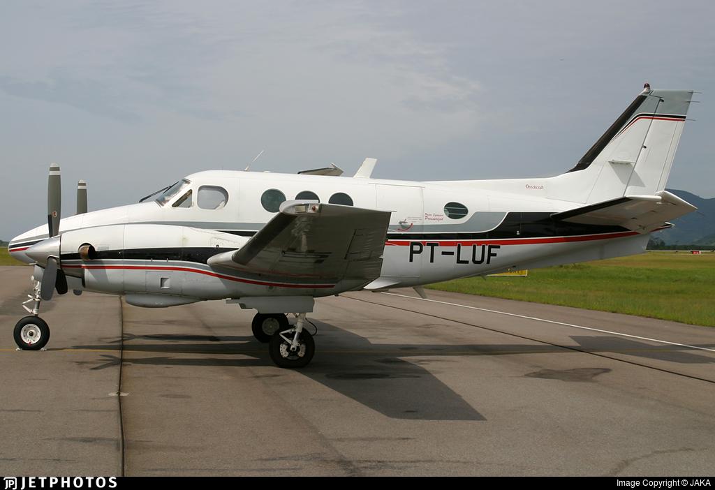 PT-LUF - Beechcraft C90 King Air - Private