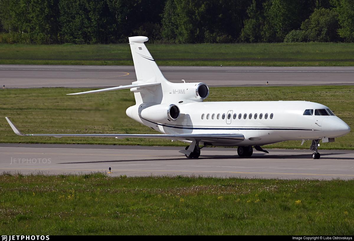 M-IAMI - Dassault Falcon 7X - Private