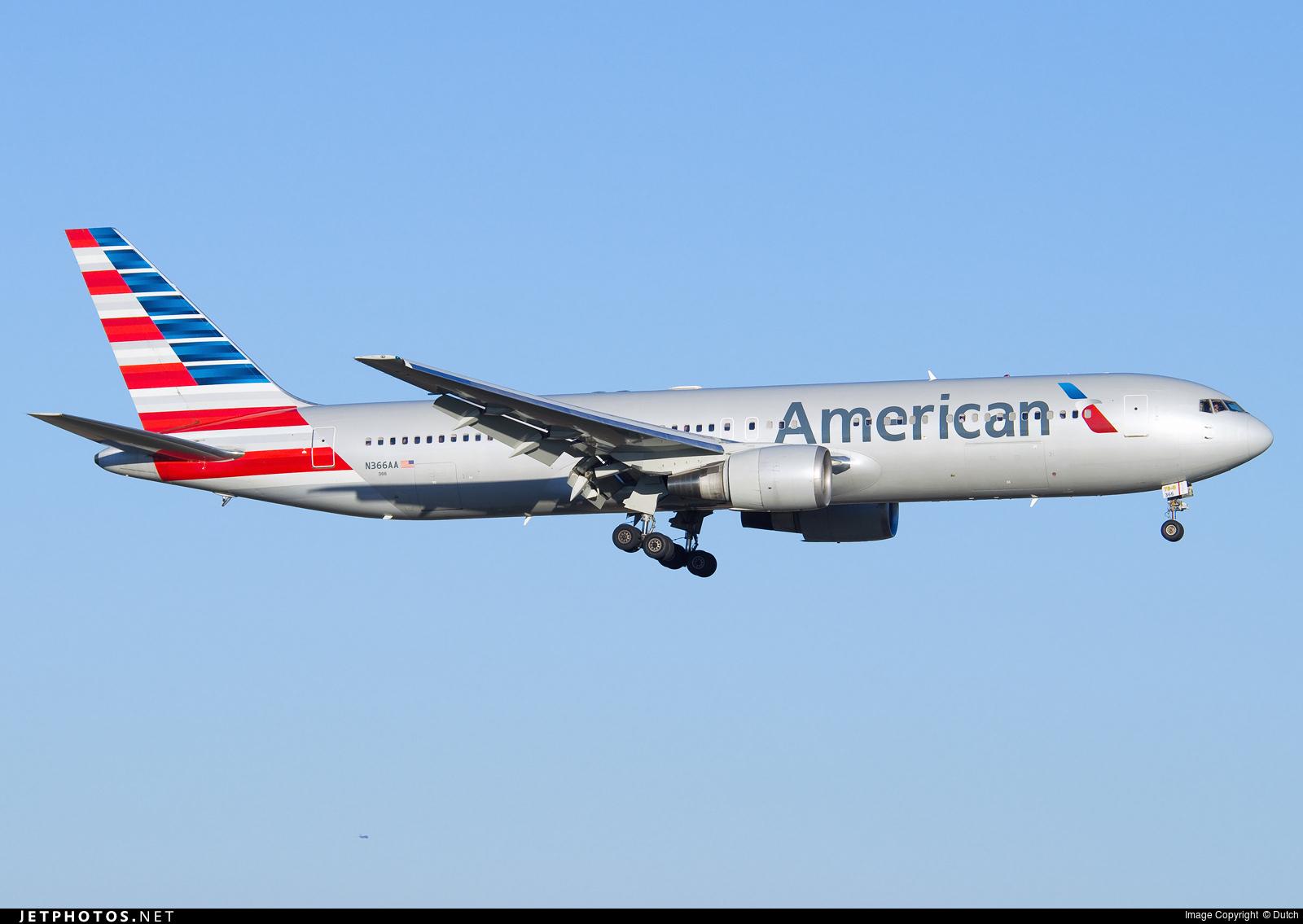 N366AA - Boeing 767-323(ER) - American Airlines