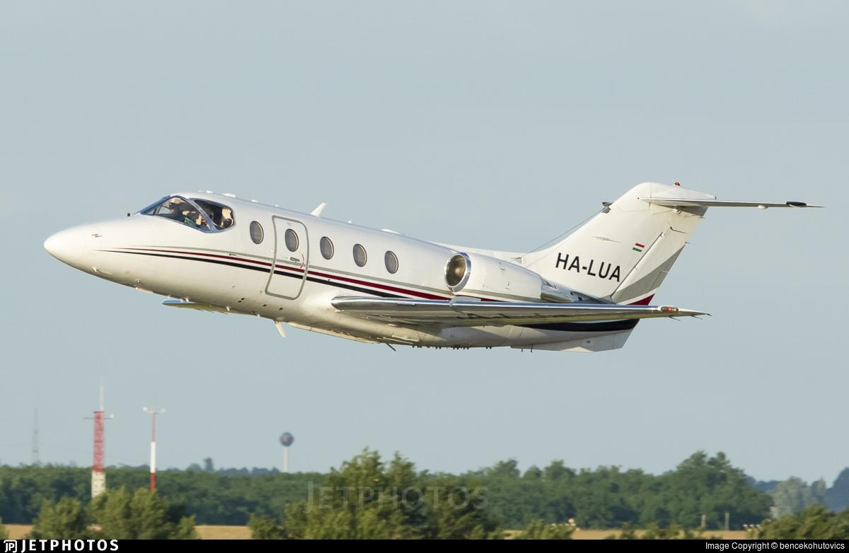 HA-LUA - Hawker Beechcraft 400XP - Private