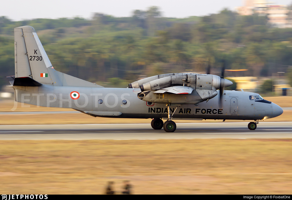 K2730 - Antonov An-32 - India - Air Force