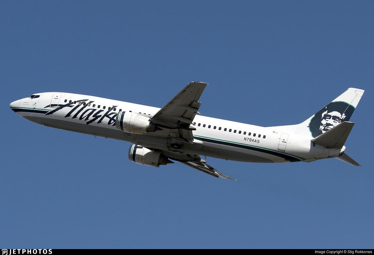 N794AS - Boeing 737-490 - Alaska Airlines