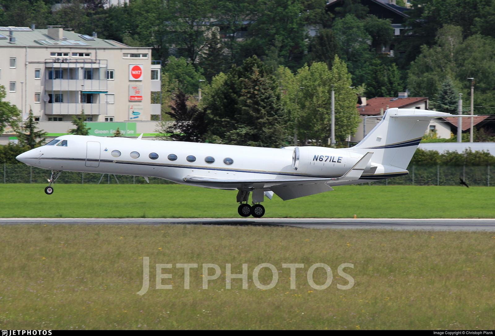 N671LE - Gulfstream G550 - AVN Air