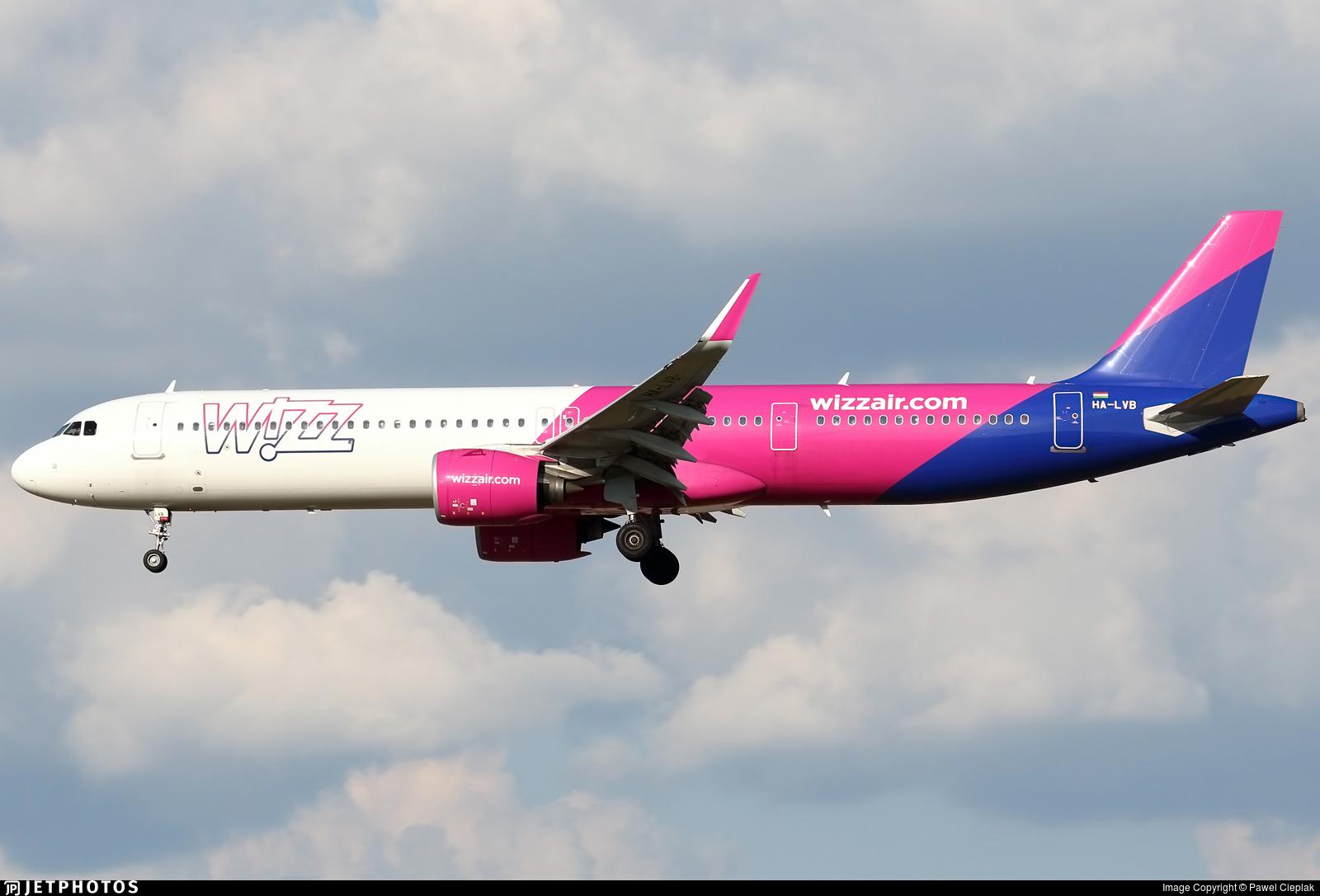 Ha Lvb Airbus A321 271nx Wizz Air Pawel Cieplak Jetphotos