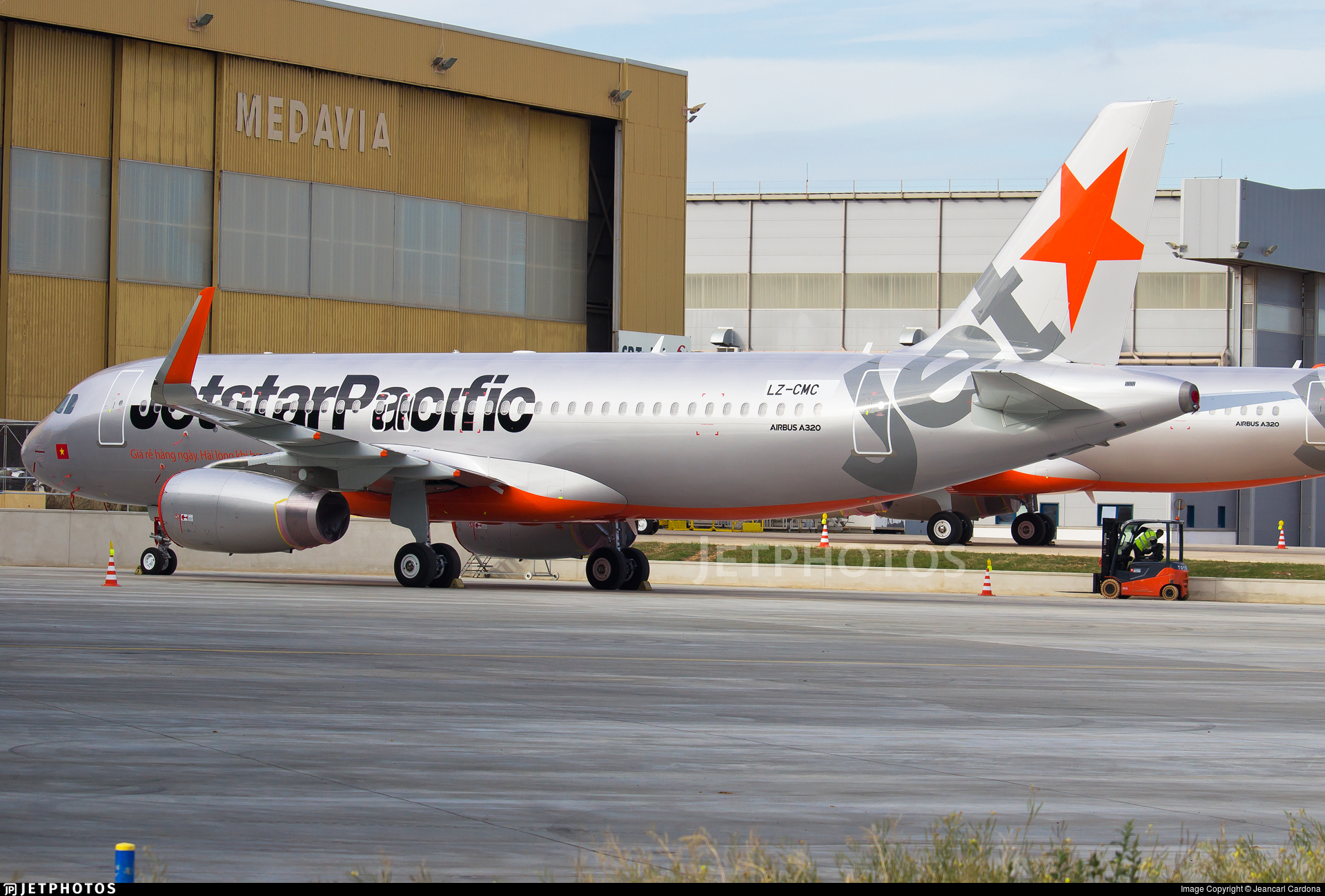 Lz cmc airbus a320 232 jetstar pacific airlines jeancarl lz cmc airbus a320 232 jetstar pacific airlines sciox Images