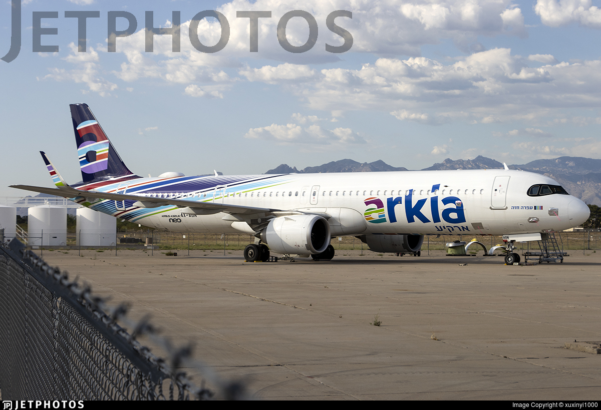 4X-AGN - Airbus A321-251NX - Arkia Israeli Airlines