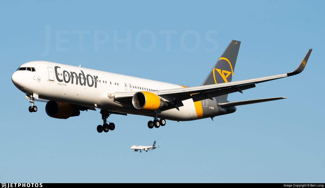 D-ABUA - Boeing 767-330(ER) - Condor