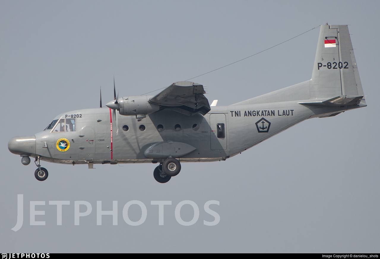 P-8202 - CASA C-212-200 Aviocar - Indonesia - Navy