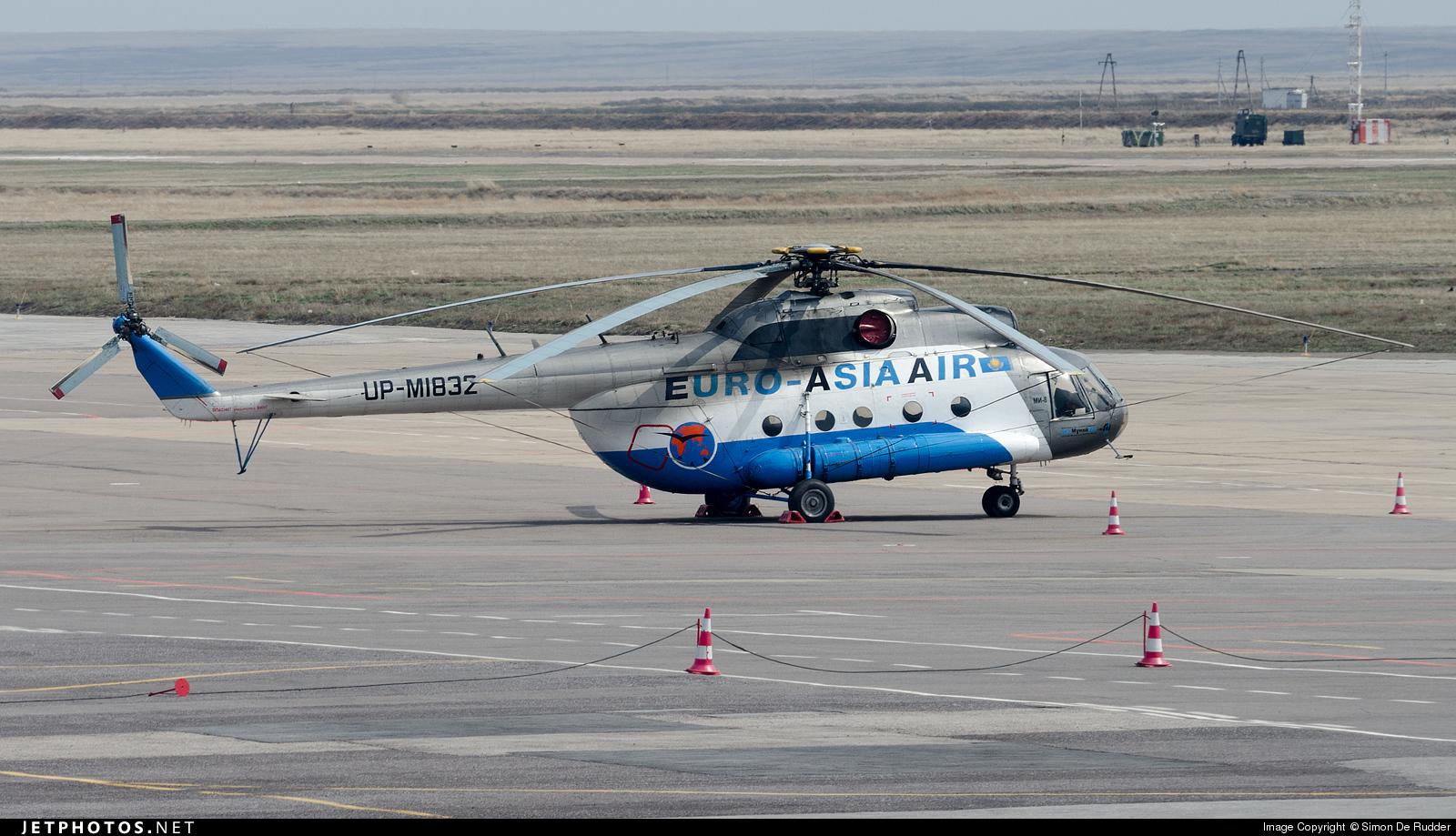 UP-MI832 - Mil Mi-8TB Hip - Euro-Asia Air