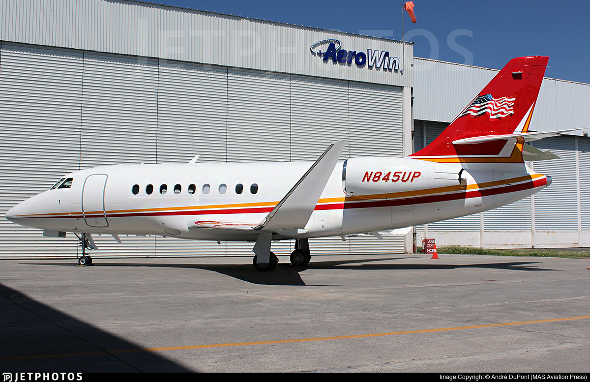 N845UP - Dassault Falcon 2000S - Private