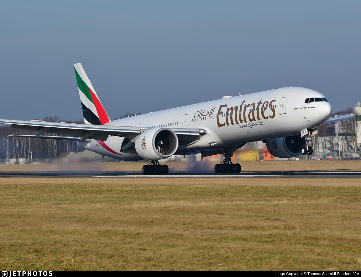 A6-EBG - Boeing 777-36NER - Emirates