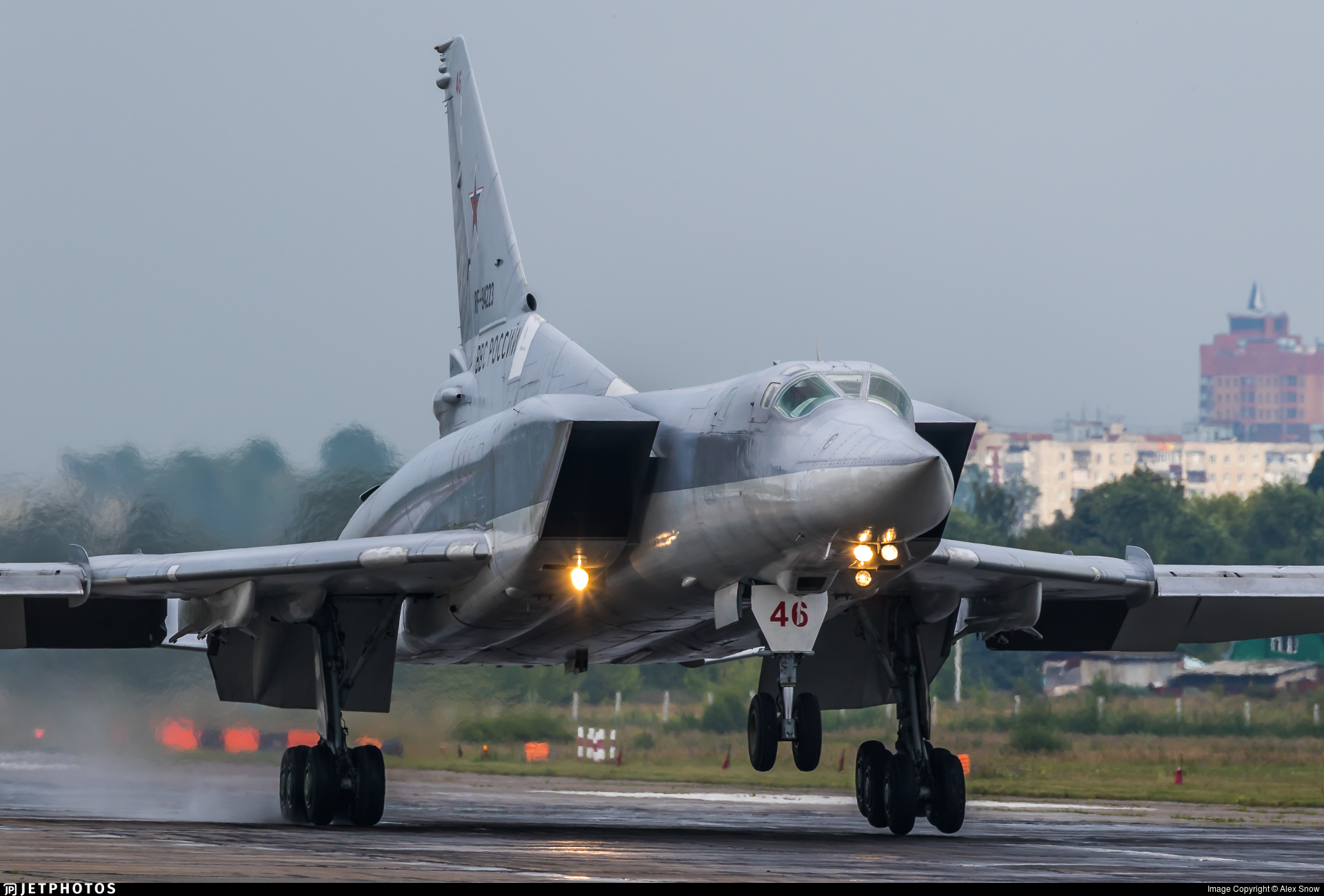 RF-94223 - Tupolev Tu-22M3 Backfire - Russia - Air Force
