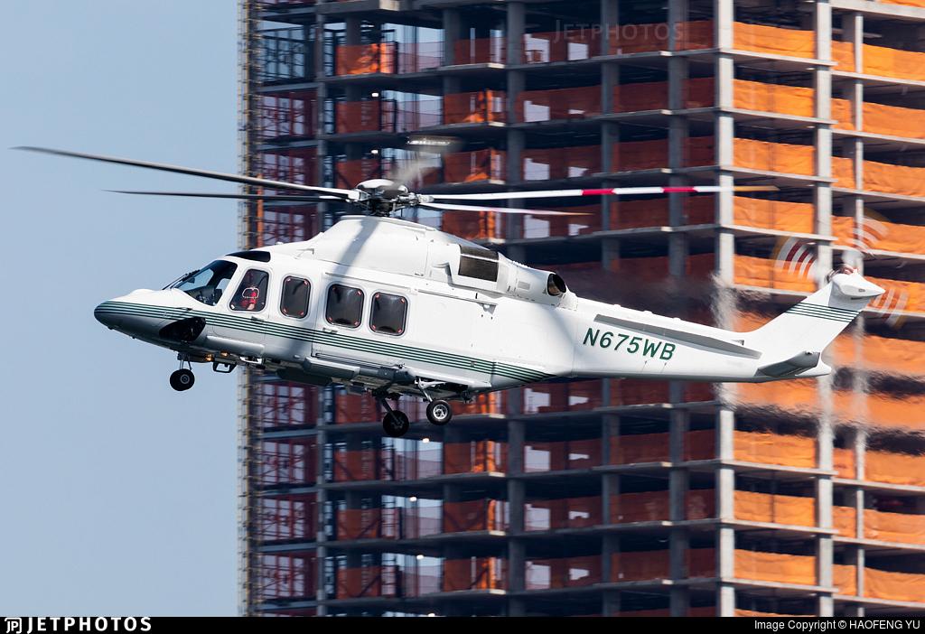 N675WB - Agusta-Westland AW-139 - Private