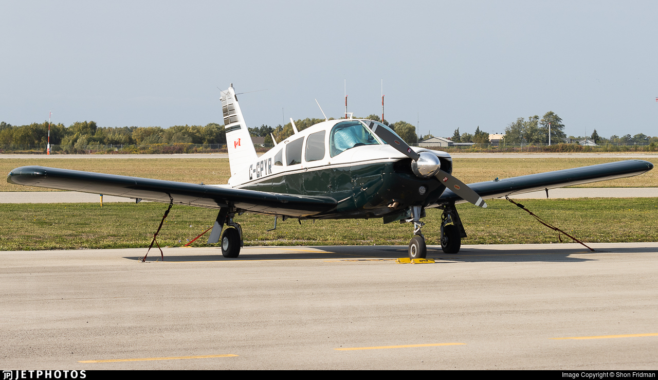 C-GPYR - Piper PA-28R-180 Cherokee Arrow - Private