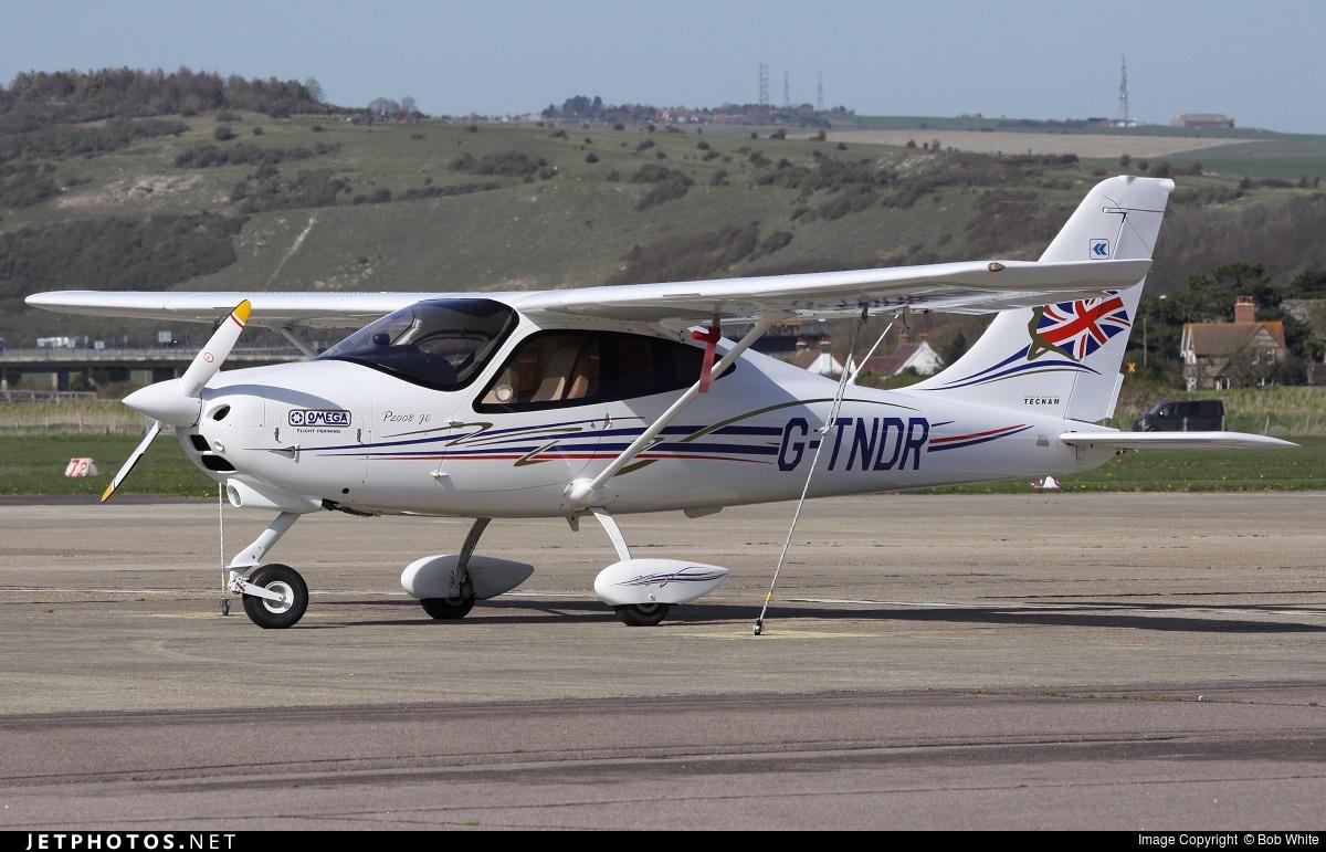 G-TNDR - Tecnam P2008 - Private