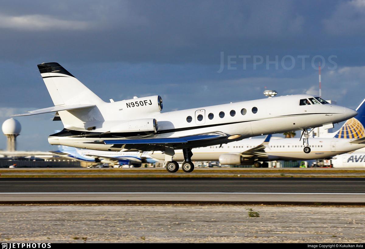 N950FJ - Dassault Falcon 50 - Private
