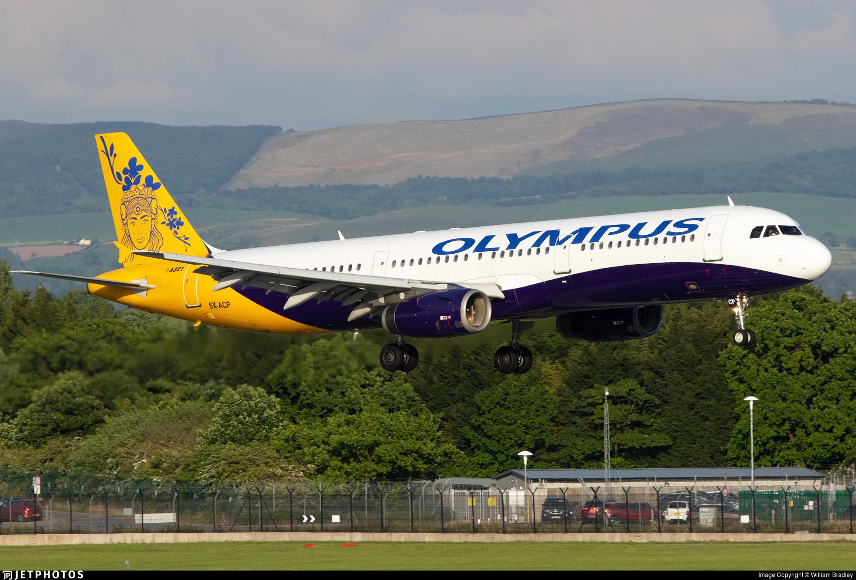 SX-ACP - Airbus A321-231 - Olympus Airways
