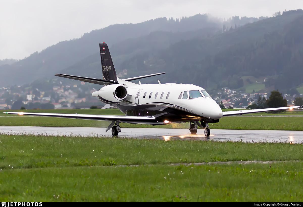 OE-GNP - Cessna 560XL Citation XLS Plus - ABC Bedarfsflug