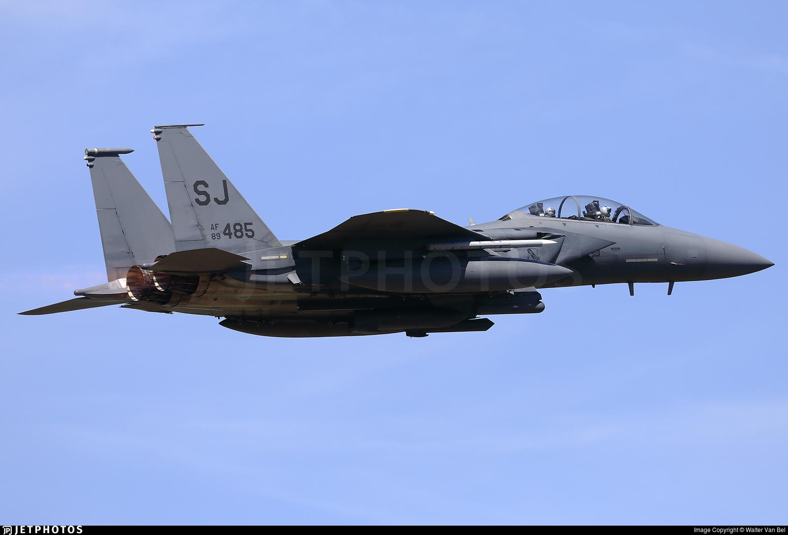 89-0485 - McDonnell Douglas F-15E Strike Eagle - United States - US Air Force (USAF)