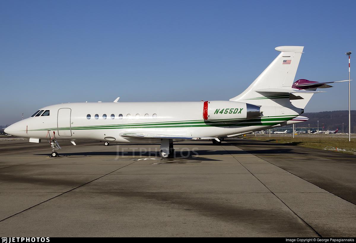 N455DX - Dassault Falcon 2000 - Suntrust Equipment Finance & Leasing Corp