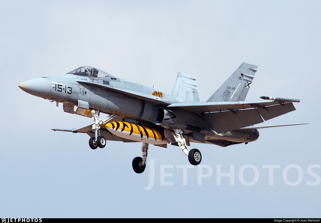 C.15-26 - McDonnell Douglas EF-18A+ Hornet - Spain - Air Force