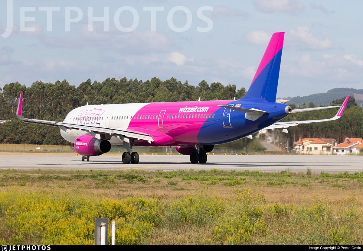 G-WUKK - Airbus A321-231 - Wizz Air UK