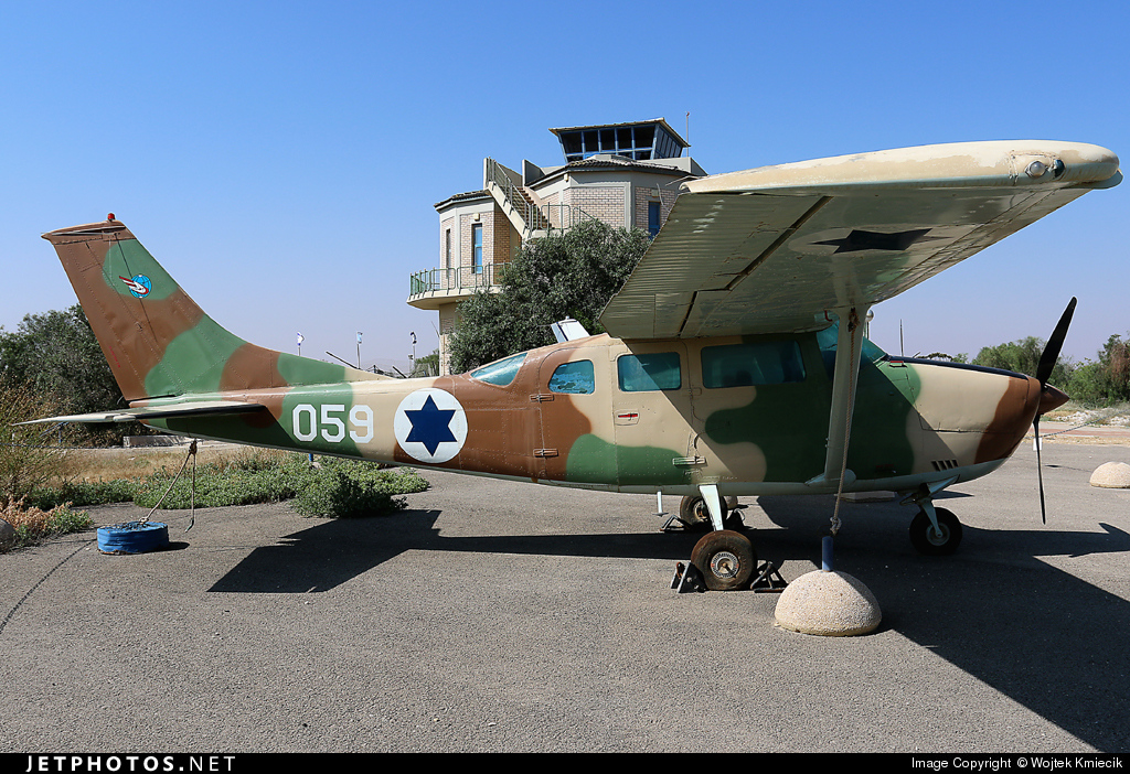 059 - Cessna U206G Stationair - Israel - Air Force